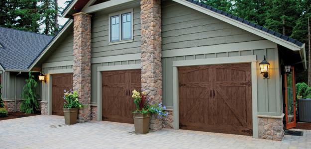 Faux Wood Garage Doors in Denver, CO - Don's Garage Doors