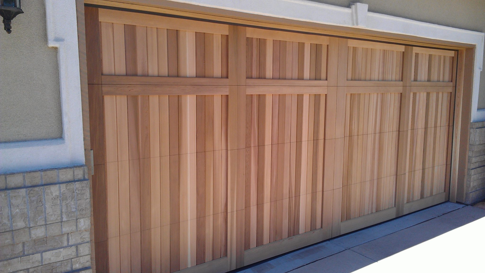 Wooden Garage Doors Professionally Installed by the team at Don's Garage Doors