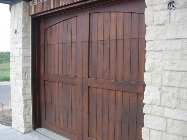 Wood Garage Doors in Denver, CO