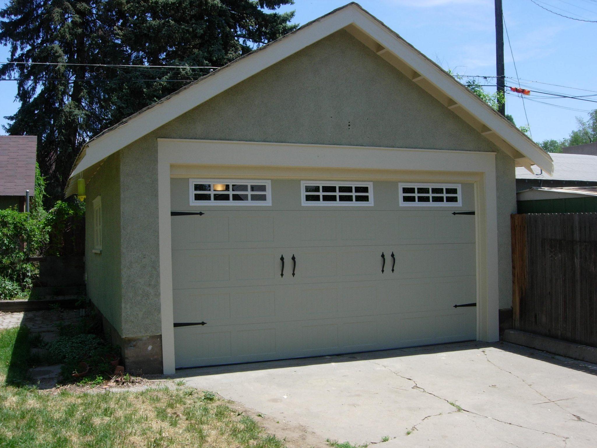 Before And After Garage Door Pictures Dons Garage Doors
