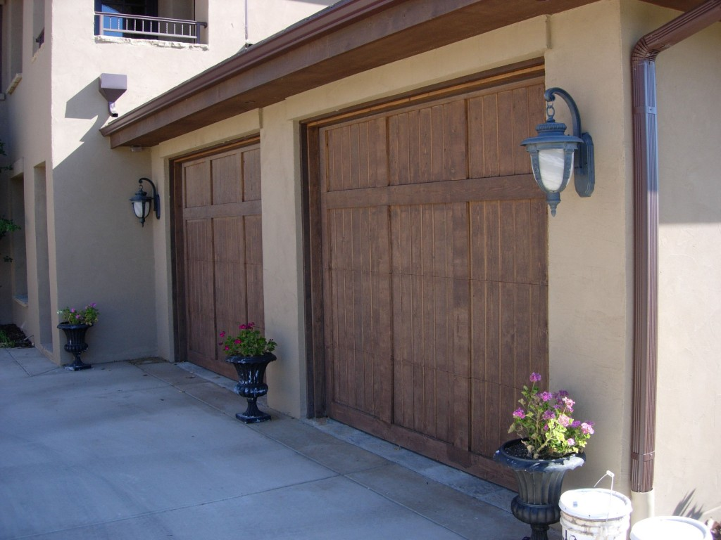 Wood Garage Doors Installed Maintained And Repaired In Denver