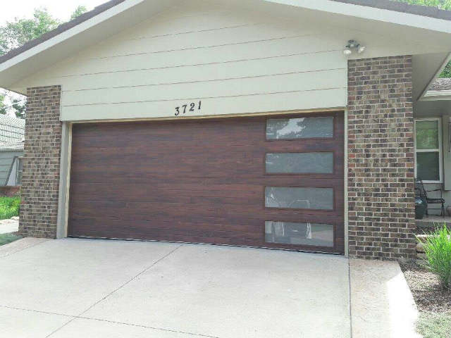 Don's Garage Doors installs beautiful wood garage doors in Denver, CO